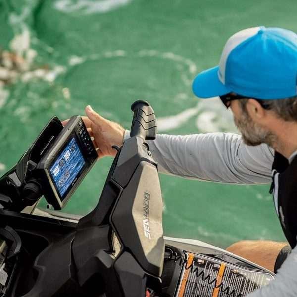 Localizador de pesca Garmin ECHOMAPTM Plus 62cv