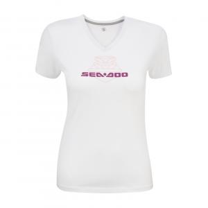 camiseta signature blanca sea-doo
