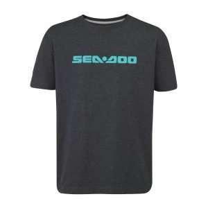 Camiseta Signature gris el