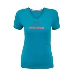 Camiseta azul signature sea-doo ella
